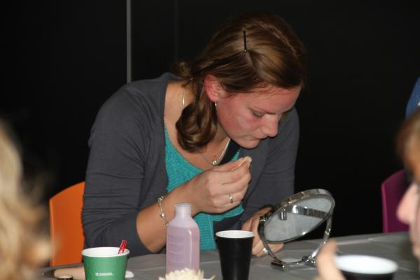 Workshop Visagie in Brugge